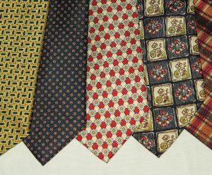 Cravates en soie