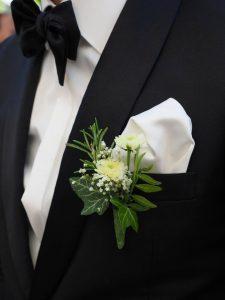cortume de mariage nœud-papillon
