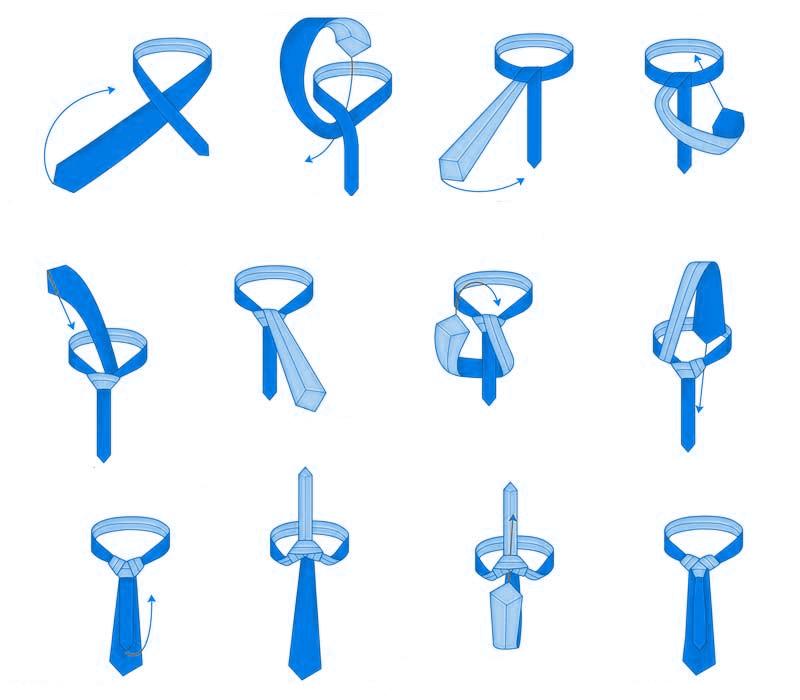 Comment faire un n ud m rovingien noeud de cravate facile - Comment faire un joli noeud ...