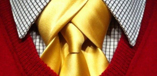 Noeud de cravate Mérovingien